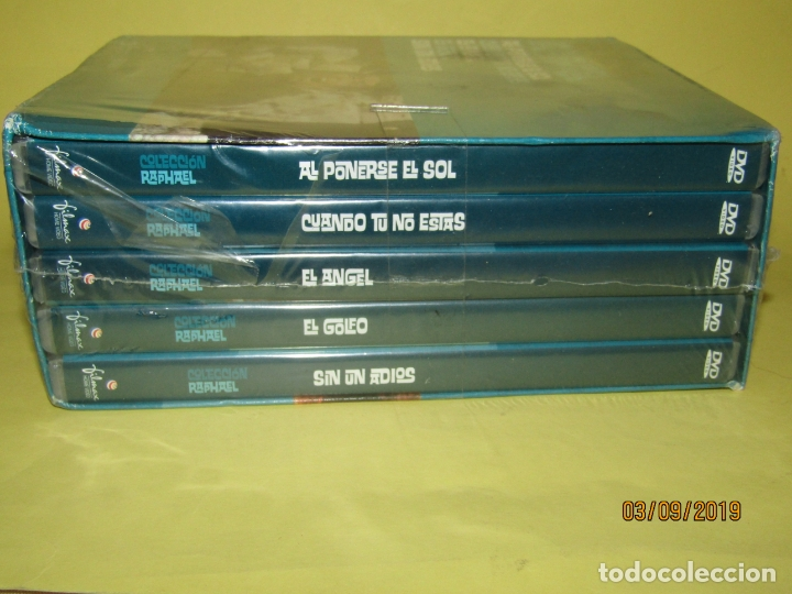 Cine: COLECCIÓN RAPHAEL 5 DVD - EL GOLFO - EL ANGEL - SIN UN ADIOS - AL PONERSE EL SOL - Foto 6 - 175572628