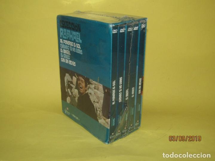 COLECCIÓN RAPHAEL 5 DVD - EL GOLFO - EL ANGEL - SIN UN ADIOS - AL PONERSE EL SOL (Cine - Películas - DVD)