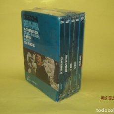 Cine: COLECCIÓN RAPHAEL 5 DVD - EL GOLFO - EL ANGEL - SIN UN ADIOS - AL PONERSE EL SOL. Lote 175572628