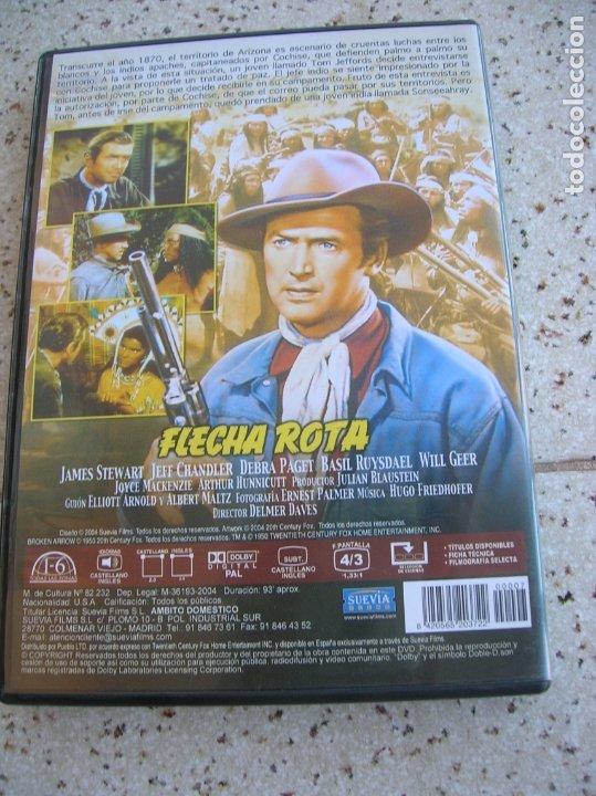 Cine: DVD PELICULA FLECHA ROTA - Foto 2 - 175621874