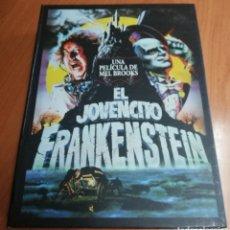 Cine: EL JOVENCITO FRANKENSTEIN EDICIÓN DE LUJO DVD+POSTALES+LIBRETO32PG+PÓSTER DESPLEGABLE. Lote 175622270