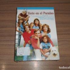 Cine: SIETE EN EL PARAISO TEMPORADA 1 COMPLETA 6 DVD 944 MIN. NUEVA PRECINTADA. Lote 195368426