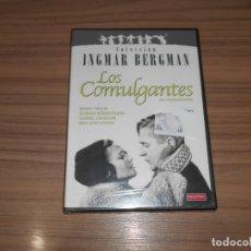 Cine: LOS COMULGANTES DVD DE INGMAR BERGMAN NUEVA PRECINTADA. Lote 195151566