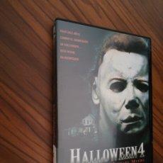 Cine: HALLOWEEN 4. DVD TERROR. BUEN ESTADO. . Lote 175727973