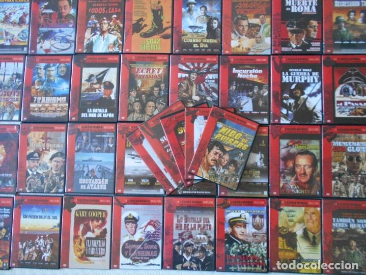 LA II GUERRA MUNDIAL EN EL CINE. LAS PEQUEÑAS Y LAS GRANDES HISTORIAS. LOTAZO DE 41 DVD CON LAS MEJO (Cine - Películas - DVD)