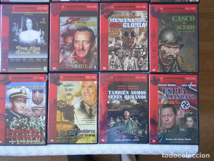 Cine: LA II GUERRA MUNDIAL EN EL CINE. LAS PEQUEÑAS Y LAS GRANDES HISTORIAS. LOTAZO DE 41 DVD CON LAS MEJO - Foto 3 - 175740619