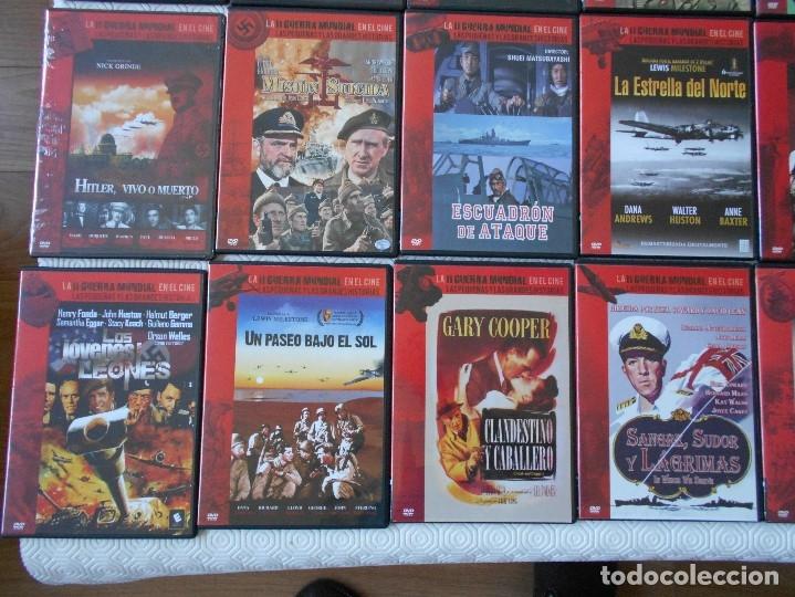 Cine: LA II GUERRA MUNDIAL EN EL CINE. LAS PEQUEÑAS Y LAS GRANDES HISTORIAS. LOTAZO DE 41 DVD CON LAS MEJO - Foto 5 - 175740619