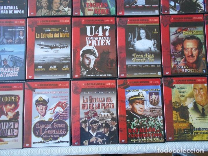 Cine: LA II GUERRA MUNDIAL EN EL CINE. LAS PEQUEÑAS Y LAS GRANDES HISTORIAS. LOTAZO DE 41 DVD CON LAS MEJO - Foto 7 - 175740619
