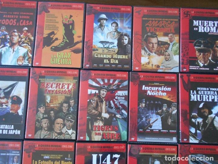 Cine: LA II GUERRA MUNDIAL EN EL CINE. LAS PEQUEÑAS Y LAS GRANDES HISTORIAS. LOTAZO DE 41 DVD CON LAS MEJO - Foto 8 - 175740619