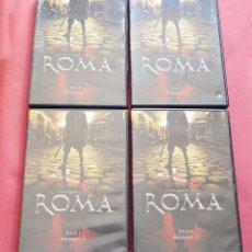 Cine: ROMA - 4 DVD - SERIE DE TELEVISION - TEMPORADA UNO - 12 EPISODIOS. Lote 175746124