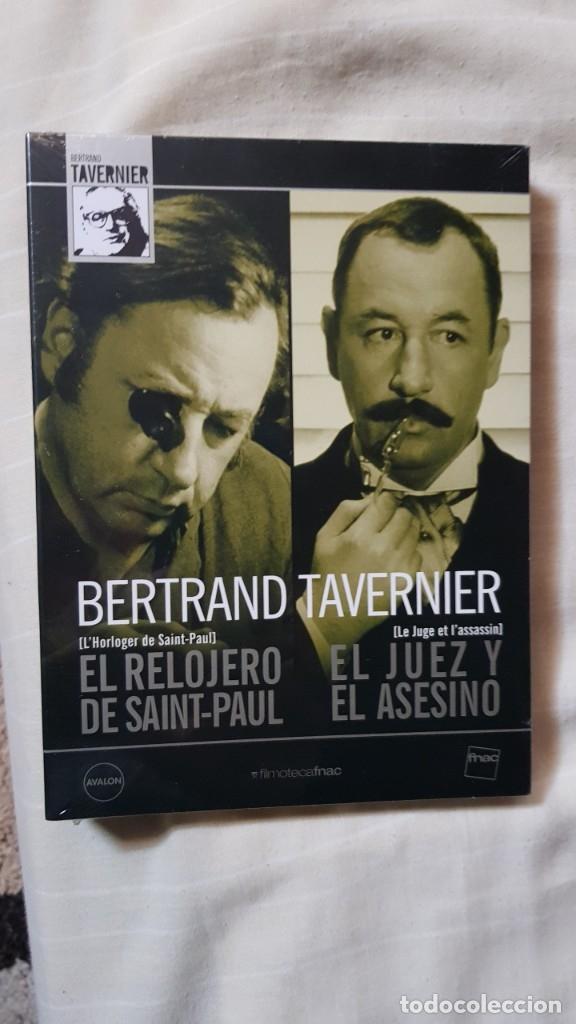 DIGIPACK DVD BERTRAND TAVERNIER NUEVA EL RELOJERO DE SAINT-PAUL EL JUEZ Y EL ASESINO PHILIPPE NOIRET (Cine - Películas - DVD)