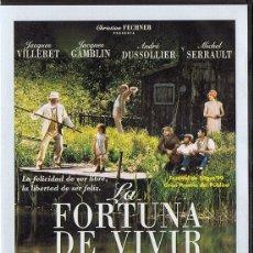 Cine: LA FORTUNA DE VIVIR JACQUES VILLERET (PRECINTADO). Lote 221957615