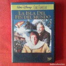 Cine: LA ISLA DEL FIN DEL MUNDO. ROBERT STEVENSON. DISNEY CINE FAMILIAR. Lote 175784813