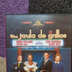 Cine: UNA JAULA DE GRILLOS DVD MIKE NICHOLS GENE HACKMAN ROBIN WILLIAMS NATHAN LANE DIANNE WEST. Lote 175907590