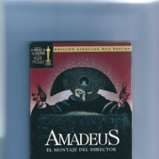 Cine: AMADEUS - EL MONTAJE DEL DIRECTOR - EDICIÓN ESPECIAL 2 DISCOS. Lote 175981928