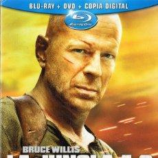 Cine: LA JUNGLA 4.0 BLU - RAY + DVD + COPIA DIGITAL . Lote 176003179
