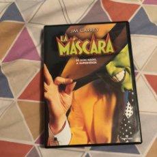 Cine: LA MÁSCARA DE JIM CARREY DVD DESCATALOGADO. Lote 176012120