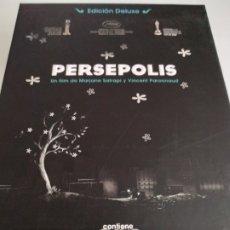 Cine: PERSEPOLIS COFRE EDICIÓN DELUXE DVD. Lote 176021650