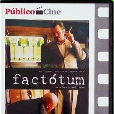 Cine: FACTOTUM - BENT HAMER. Lote 176074320
