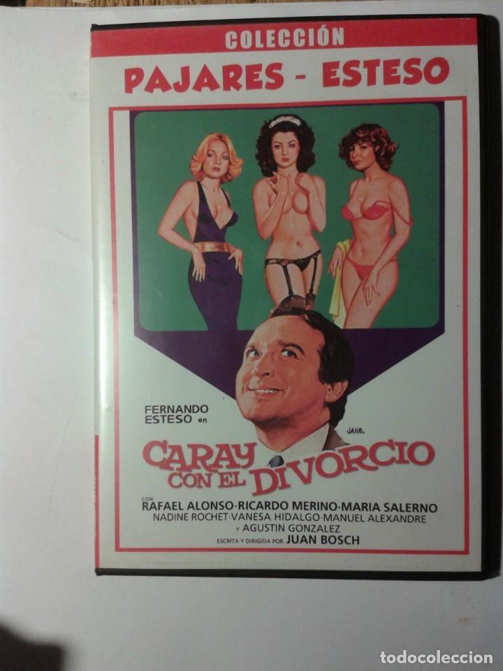 CARAY CON EL DIVORCIO PAJARES-ESTESO DVD (Cine - Películas - DVD)