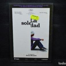 Cine: LA SOLEDAD - DVD. Lote 176197420