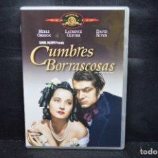 Cine: CUMBRES BORRASCOSAS - DVD. Lote 176202894