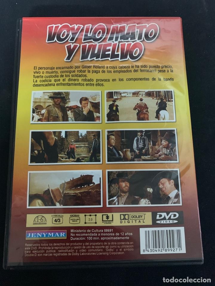 Cine: ( S200 ) VOY LO MATO Y VUELVO ( dvd Segunda mano impoluta ) - Foto 2 - 176214692