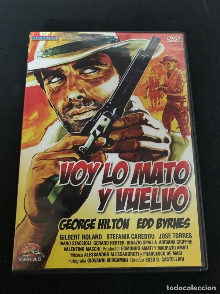 ( S200 ) VOY LO MATO Y VUELVO ( DVD SEGUNDA MANO IMPOLUTA ) (Cine - Películas - DVD)