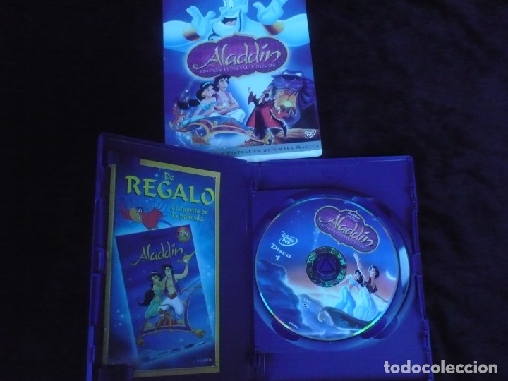 Cine: aladdin edicion especial 2 discos - clasico nº 31 - dvd como nuevo - Foto 2 - 176214843