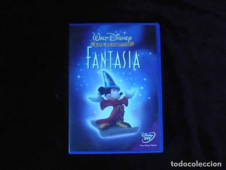 FANTASIA WALT DISNEY LOS CLASICOS - DVD COMO NUEVO (Cine - Películas - DVD)