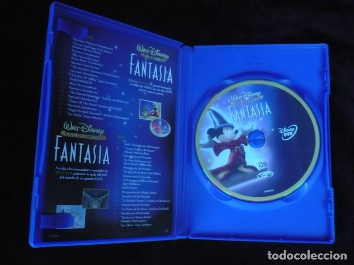 Cine: fantasia walt disney los clasicos - dvd como nuevo - Foto 2 - 176214930