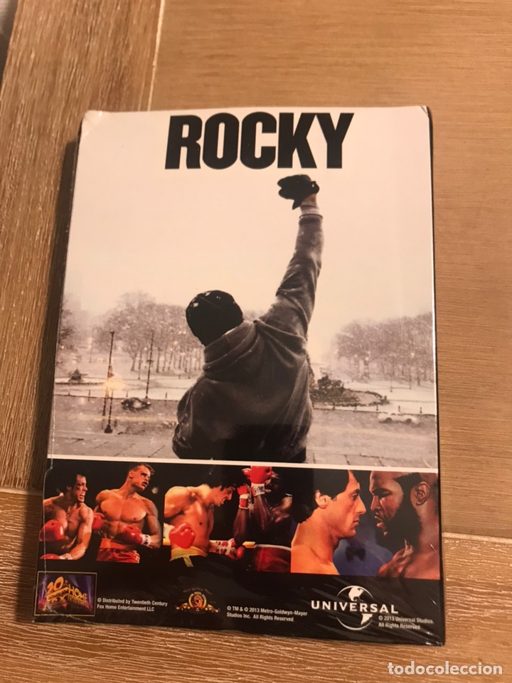 Cine: Sylvester Stallone Colección completa DVDs Rambo y Rocky - Foto 3 - 176215079