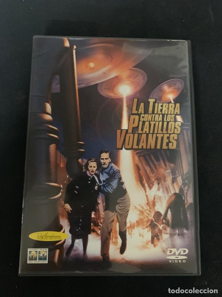 ( S200 )LA TIERRA CONTRA LOS PLATILLOS VOLANTES ( DVD SEGUNDA MANO IMPOLUTA ) (Cine - Películas - DVD)
