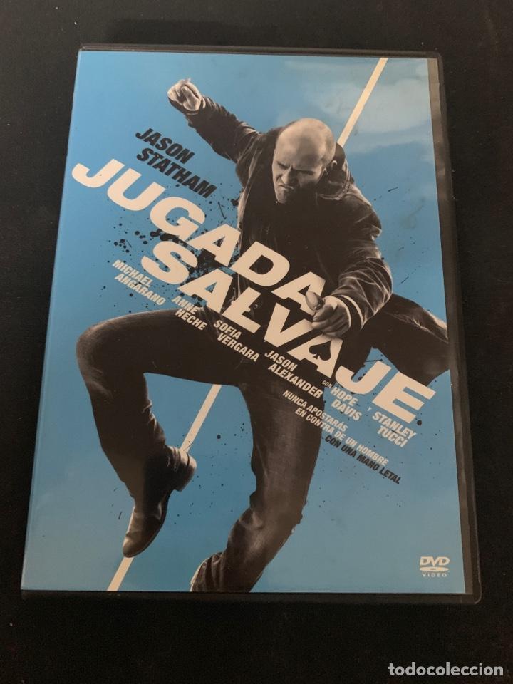 ( S200 ) JUGADA SALVAJE ( DVD SEGUNDA MANO IMPOLUTA ) (Cine - Películas - DVD)