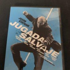 Cine: ( S200 ) JUGADA SALVAJE ( DVD SEGUNDA MANO IMPOLUTA ). Lote 176215302