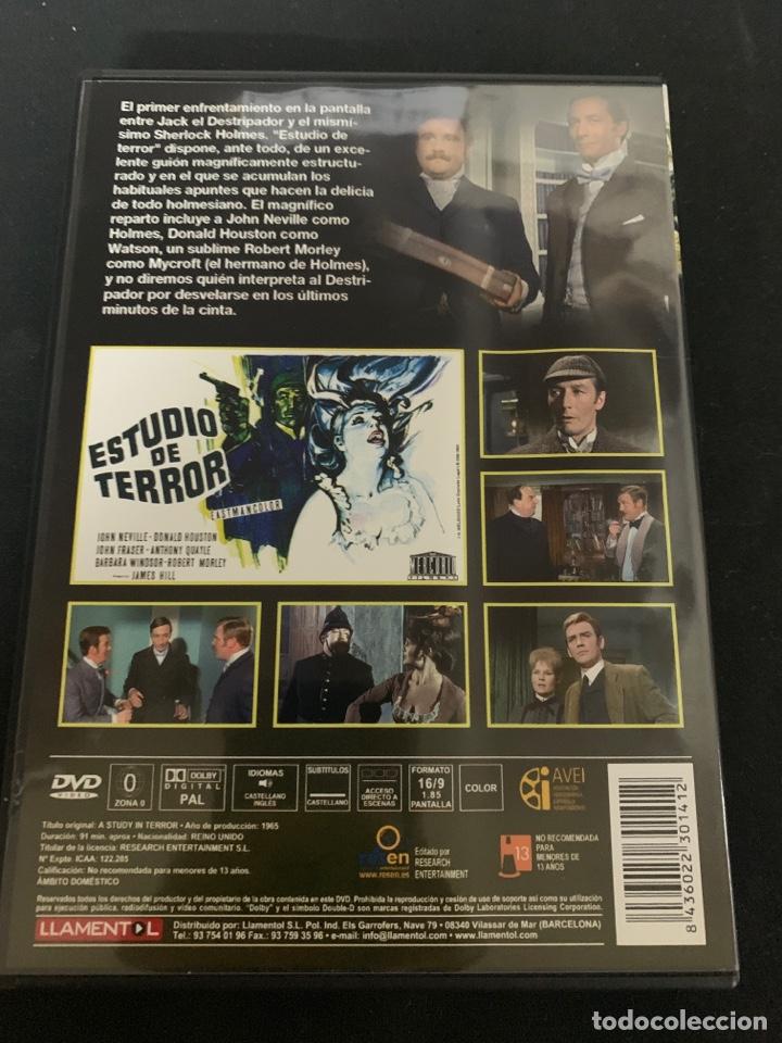 Cine: ( S200 ) ESTUDIÓ DE TERROR ( dvd Segunda mano impoluta ) - Foto 2 - 176215364