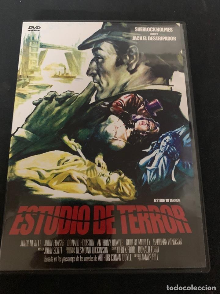 ( S200 ) ESTUDIÓ DE TERROR ( DVD SEGUNDA MANO IMPOLUTA ) (Cine - Películas - DVD)