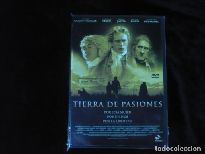 TIERRA DE PASIONES - DVD NUEVO PRECINTADO (Cine - Películas - DVD)