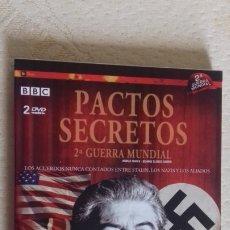 Cine: DVD DOCUMENTAL II GUERRA MUNDIAL PACTOS SECRETOS STALIN HITLER 2 DISCOS. Lote 176218293