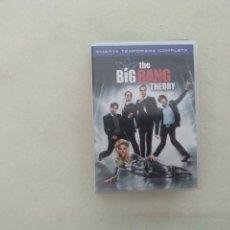 Cine: THE BIG BANG THEORY - CUARTA TEMPORADA COMPLETA - DVD. Lote 176233515