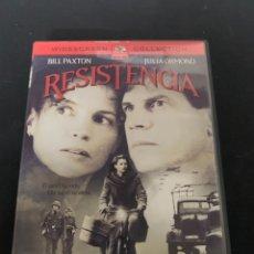 Cine: ( S200 ) RESISTENCIA ( DVD SEGUNDA MANO IMPOLUTA ). Lote 176234932
