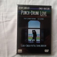 Cine: PUNCH-DRUNK LOVE - ESCRITA Y DIRIGIDA POR PAUL THOMAS ANDERSON - DVD. Lote 176235300
