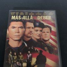 Cine: ( S200 ) MÁS ALLÁ DEL DEBER ( DVD SEGUNDA MANO IMPOLUTA ). Lote 176235312