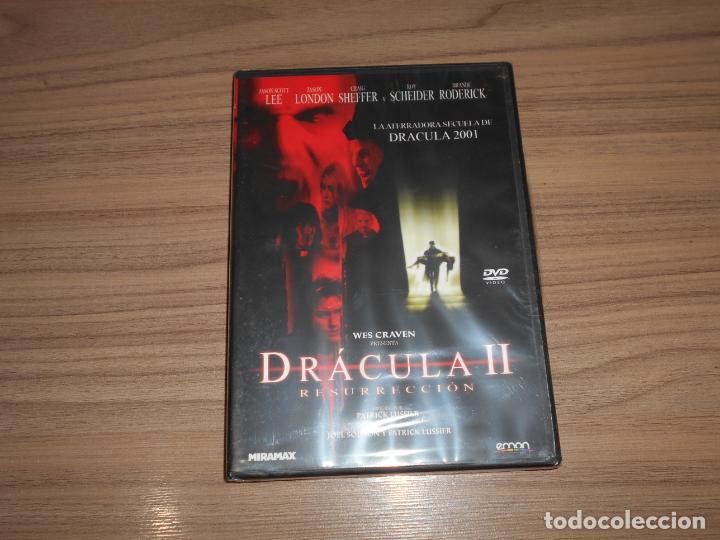 DRACULA II RESURRECCION DVD DE WES CRAVE TERROR NUEVA PRECINTADA (Cine - Películas - DVD)