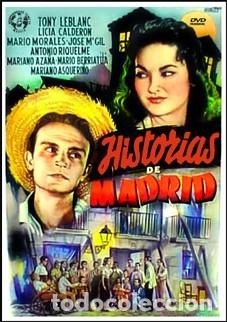 HISTORIAS DE MADRID - TONY LEBLANC, LICIA CALDERÓN, MARIO MORALES DVD NUEVO (Cine - Películas - DVD)