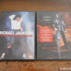 Cine: DVD DE MICHAEL JACKSON: GREATEST HITS Y LIVE IN BUCHAREST: THE DANGEROUS TOUR. Lote 176288292