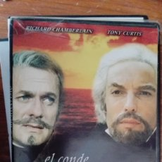 Cine: EL CONDE DE MONTECRISTO DVD RICHARD CHAMBERLAIN NUEVA PRECINTADA. Lote 176327863