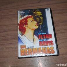 Cine: LAS HERMANAS DVD ERROL FLYNN BETTE DAVIS NUEVA PRECINTADA. Lote 186394671