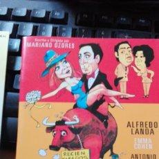 Cine: DVD CELEDONIO Y YO SOMOS ASÍ ALFREDO LANDA. Lote 176334525
