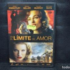Cine: EN EL LIMITE DEL AMOR - DVD. Lote 176339968